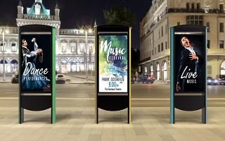 amh digital audio visual outdoor displays